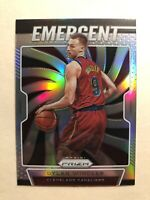 2019-20 Panini Prizm Emergent Dylan Windler Silver Prizm SP Rookie Card #12 RARE