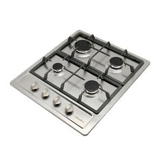 Us Shipping 23.6in Pulse Ignition Gas Hob 4 Burners 3300W 11259 Btu/H Cooktops