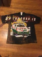 Vintage 1990s All Over Print NHRA T Shirt 2xl JOHN FORCE DRAG RACING Xxlarge