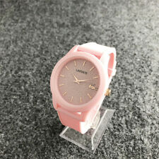 Fashion Women's Design Watch Silica Gel Youth Frosted Frosted Wristwatch