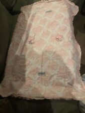 Car Seat Cover Nursing Cover Baby Car Seat Canopy Multi-use Pink