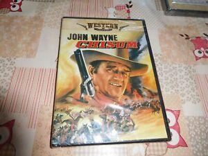 DVD western john wayne chisum neuf sous blister