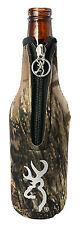 Browning Camo Bottle Koozie Cooler Bottle Huggie,Browning Buck Mark