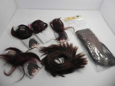 6 POP Hair U Wear Extensions Hair Wraps Clips HairUWear SNG Deep Red Brown