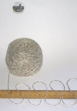 50g Lakeland bowness Crema Marrone Grigio Screziato per Maglieria Lana Yarn 4 Ply morbidi