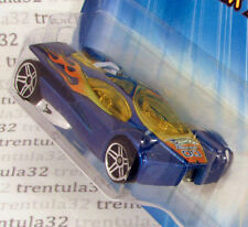 PR5 Variation SLING SHOT blue 2005 Track Aces rare Hot Wheels
