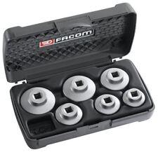 "Facom 3/8"" Drive 6 Piece Automotive Cartridge Filter Socket Set"