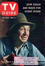 1959 TV Guide March 7 -Walter Brennan; Harpo, Chico Marx; Croft Twins;John Payne