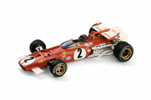 Ferrari 312B GP Italia 1970 J. Ickx with Driver Figure 1:43 Model R313CCH BRUMM
