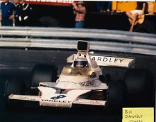 Peter Revson 1973 MONACO GRAND PRIX McLaren M23 INDY 500 DRIVER  8 X 10 PHOTO 4