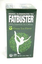 Fatbuster Herbal Slenderizing Tea Green Tea Weight Loss Diet / 24 Tea Bags