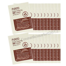 PURITO Snail Clearing BB Cream SPF38/PA+++ Sample 20ea Free gifts