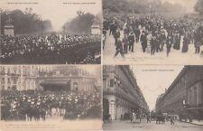 Italy Royalty King Visit 1903 Paris King Victor Emmanuel 105 Vintage Postcards