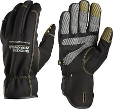 Snickers Workwear Weather Flex dry guantes negro