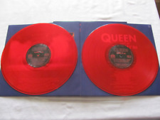 Queen LIVE AT WEMBLEY '86 gatefold 2 LP double vinyl RED translucent REISSUE