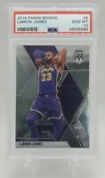 2019 Panini Mosaic #8 Lebron James PSA 10 LA Lakers