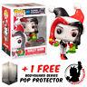 FUNKO POP DC COMICS BATMAN HARLEY QUINN HOLIDAY #299 EXCLUSIVE VINYL FIGURE