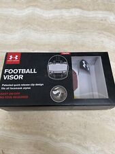 🔥 Under Armour Youth Football Visor - Clear Quick Release Brand New! 🔥