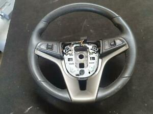HOLDEN BARINA STEERING WHEEL LEATHER, NON RS, TM, 10/11-12/18 11 12 13 14 15 16