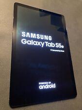Samsung Galaxy Tab S5e 64GB, Wi-Fi, 10.5in - Black