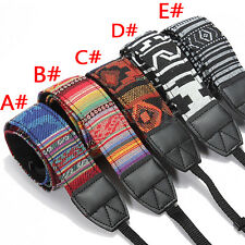 Vintage SLR DSLR Camera Strap Shoulder Neck Belt for Nikon Canon Pentax Sony UK
