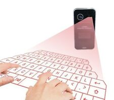 Wireless LCD  Bluetooth Laser Projection Virtual Keyboard mouse function