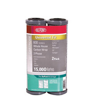 """Dupont 800 Series 10"""" Whole House Carbon Wrap Water Filter 2-Pack Wfpfc8002"""