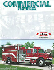 Fire Equipment Brochure - Pierce - Commercial Pumpers - Gilt Edge c2000 (DB195)