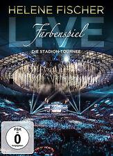 """Helene Fischer """"farbenspiel -Live Die Stadion Tournee"""" Deluxe DVD + 2CD NEU 2015"""