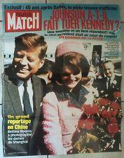 AFFICHE Une de PARIS MATCH n°2839-2003 JFK John Fitzgerald KENNEDY Onassis