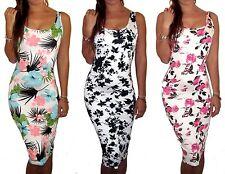 Viscose Summer/Beach Midi Dresses for Women
