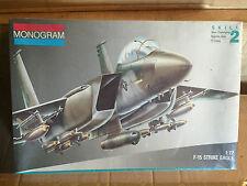 MONOGRAM KIT IN SCALA 1/72,F-15 STRICKE EAGLE NUOVISSIMO VINTAGE!!!
