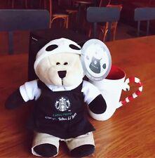 starbucks china limited city bearista chengdu black taikooli panda bear with tag