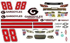 #88 Dale Earnhardt jr. Gargoyles 2013 Chevy 1/64th Ho Scale Slot Car Decals