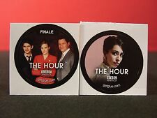 Set of Two The Hour Collectible New Get Glue Stickers NLA