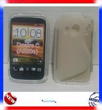 Pellicola+Custodia cover case WAVE CLEAR per HTC Desire C