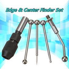 4 Wiggler Edge Finder Center Finders Set Milling Drill Holder Milling Drill Set