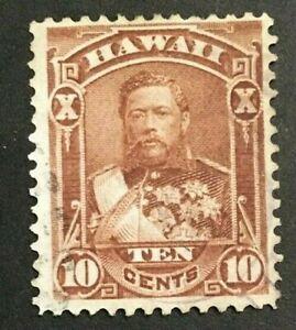 HAWAII  SCOTT  #44     USED--VLC