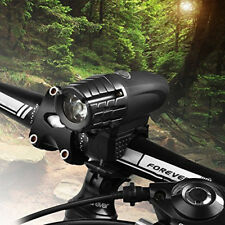LED Rechargeable Bycicle Front Light Headlamp Headlight Bike Lamp Torch 4-Mode