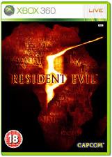 Xbox 360-Resident Evil 5 (versión original) ** nuevo Y Sellado ** existencias oficiales del Reino Unido