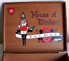 Wooden Cigar Box House of Windsor Palmas Decor Storage Box    L5