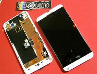 DISPLAY LCD+TOUCH SCREEN BIANCO per BLACKBERRY Z10 3G+TASTI+VIBRAZIONE+VETRO