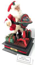 *Vtg* Rare Holiday Creations Animated Santa Claus Christmas Scene Music Decor