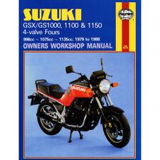 Suzuki GS1000 GS1100 GS1150 GSX1000 GSX1100 4-Valve Fours 1979-88 Haynes Worksho