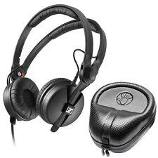 Sennheiser HD 25 PLUS On-ear closed backHeadphones + Slappa HardBody PRO Case