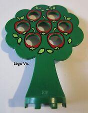 Légo Fabuland x681px1 Tree Arbre Vert Green with Apple Pomme 3675 3659 3680 F5