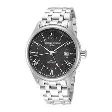 Frederique Constant FC-350B5B6B Men's Classics GMT Automatic 42mm Watch