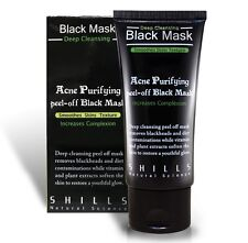 2X SHILLS Black Mask Purifying Deep Facial Cleansing Peel-off - Pack of 2