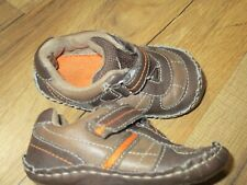 Koala Kids Baby Toddler Boys' Size 5 Brown Classic Crib Shoes Soft Soles