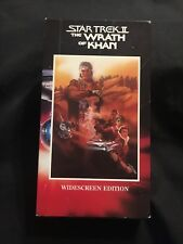 Star Trek II: The Wrath of Khan (VHS, 1991) Widescreen Edition